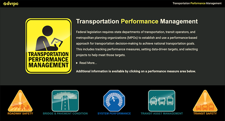 Screenshot of TPM website