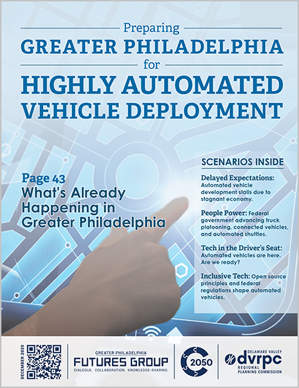 Preparing Greater Philadelphia for Highly Automated Vehicle Deployment report cover